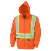FR Zip-Style Heavyweight Safety Hoodie - CSA, Class 1 - Pioneer - 338SF