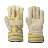 Fitter's Cowgrain Striped Safety Glove - 12 Pkg - Pioneer - 536