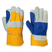 Cowsplit Two-Piece Palm Fitter's Safety Glove - 12 Pkg - Pioneer - 545