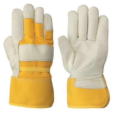 Fitter's Insulated Boa-LinedCowgrain Safety Glove -12 Pkg- Pioneer - 530B