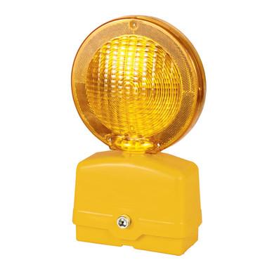 Yellow Barricade Light with Photo Sensor - LED - Pioneer - 177