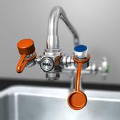 Faucet-Mounted Eyewash
