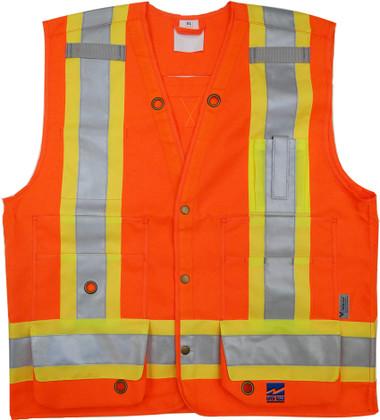 Open Road Surveyor Safety Vest - CSA, Class 2 - Viking  6165O