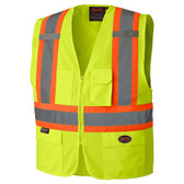 Hi-Vis Safety Vest w/ Front Zipper - CSA, Class 2 - 159 Pioneer