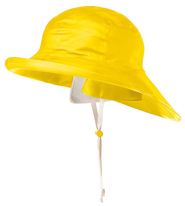 Dry King Traditional Sou'Wester Rain Hat - SBR - Pioneer - Yellow D5050