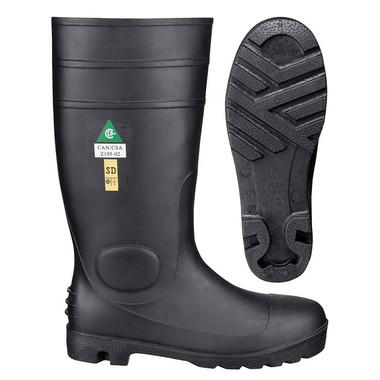 Heavy Duty Steel Toe Rubber Boot - CSA, SD - Pioneer - 1022