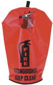 Fire Extinguisher Vinyl Cover (W/ Window)- 10Lb, 20Lb, 30Lb