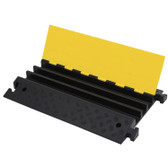Hi-Vis Cable Protector Ramp - 3 Channel - 286 - Pioneer