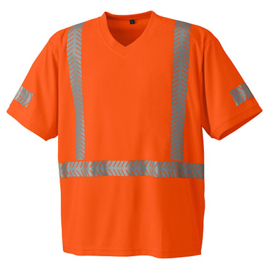Hi-Vis Cool-Pass Safety T-Shirt - CSA, Class 2 - Pioneer 6900 Orange