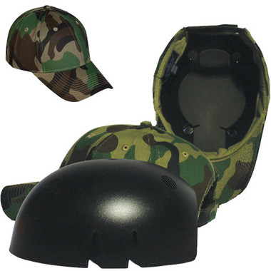 Baseball Style Safety Bump Cap Abs Insert Safety