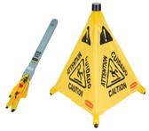 "Hi-Vis Pop-Up Caution Safety Cone - 20"" - Rubbermaid - JA131"
