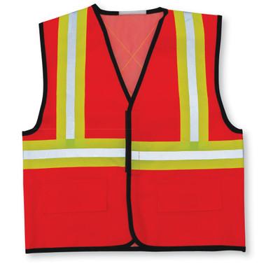 Hi-Vis One-Size-Fits-All Kids Safety Vest - 2 Pkg - Big K - 010KIDS