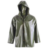Heavy-Duty Hooded Rain Jacket - Canadian Classic - RanPro - J35 345H