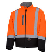 Hi-Vis Mechanical Strength Safety Jacket CSA, Class 2 Pioneer 5679 ORANGE