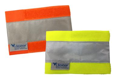 Adjustable Hi-Vis Safety Maxx Wrist Band 2 Pairs  Viking 6185WO/WG