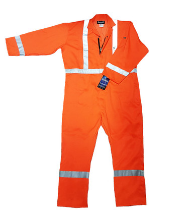 Hi-Vis Poly/Cotton Safety Coverall CSA, Class 3 Hammill - M29406T