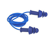 """Corded Detectable """"COMFORT-FIT"""" Reusable Earplugs   100 Pairs   Dynamic"""