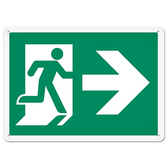 FIRE SIGNS - Running Man Sign | Exit Right