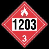 Gasoline | Class 3 Placard
