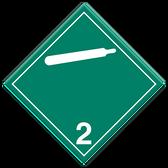 Non-Toxic & Non-Flammable Gases | Class 2.2 Placard