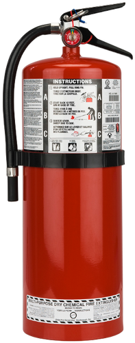 20 LB. ABC MULTI-PURPOSE DRY CHEMICAL PORTABLE FIRE EXTINGUISHER