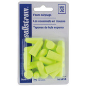 Disposable Ear Plugs Bullet Shape | Mini Pkg | Sellstrom