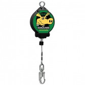Galvanized Cable SRL w/ Swivel Top, Swivel Snap Hook & Carabiner (16') | Norguard |