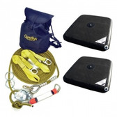 Kit includes: 2-Person 60' Kernmantle HLL System (04639) & (2) EcoAnchors (30801) | Norguard |