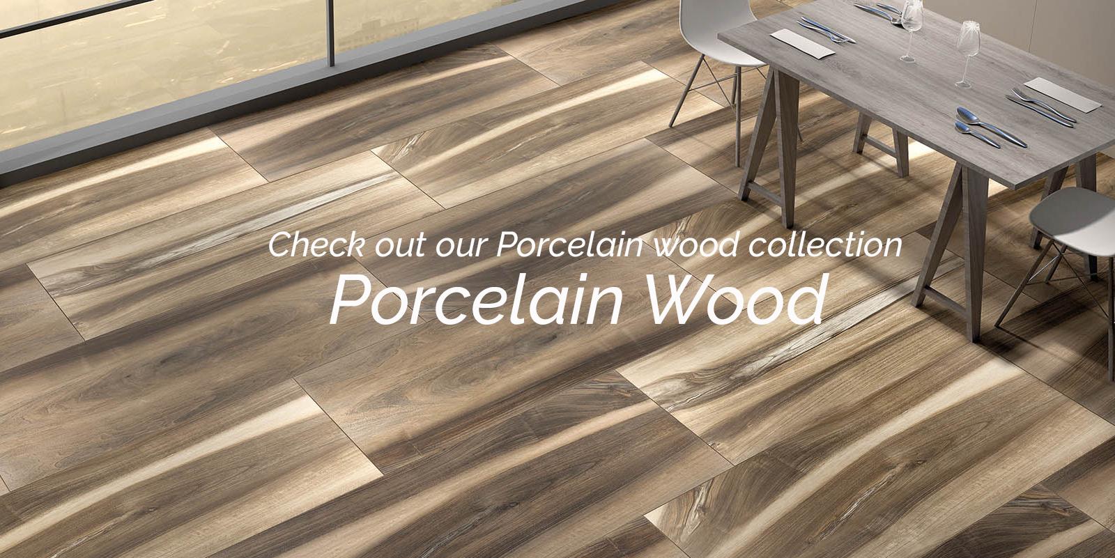 Porcelain Wood Tiles