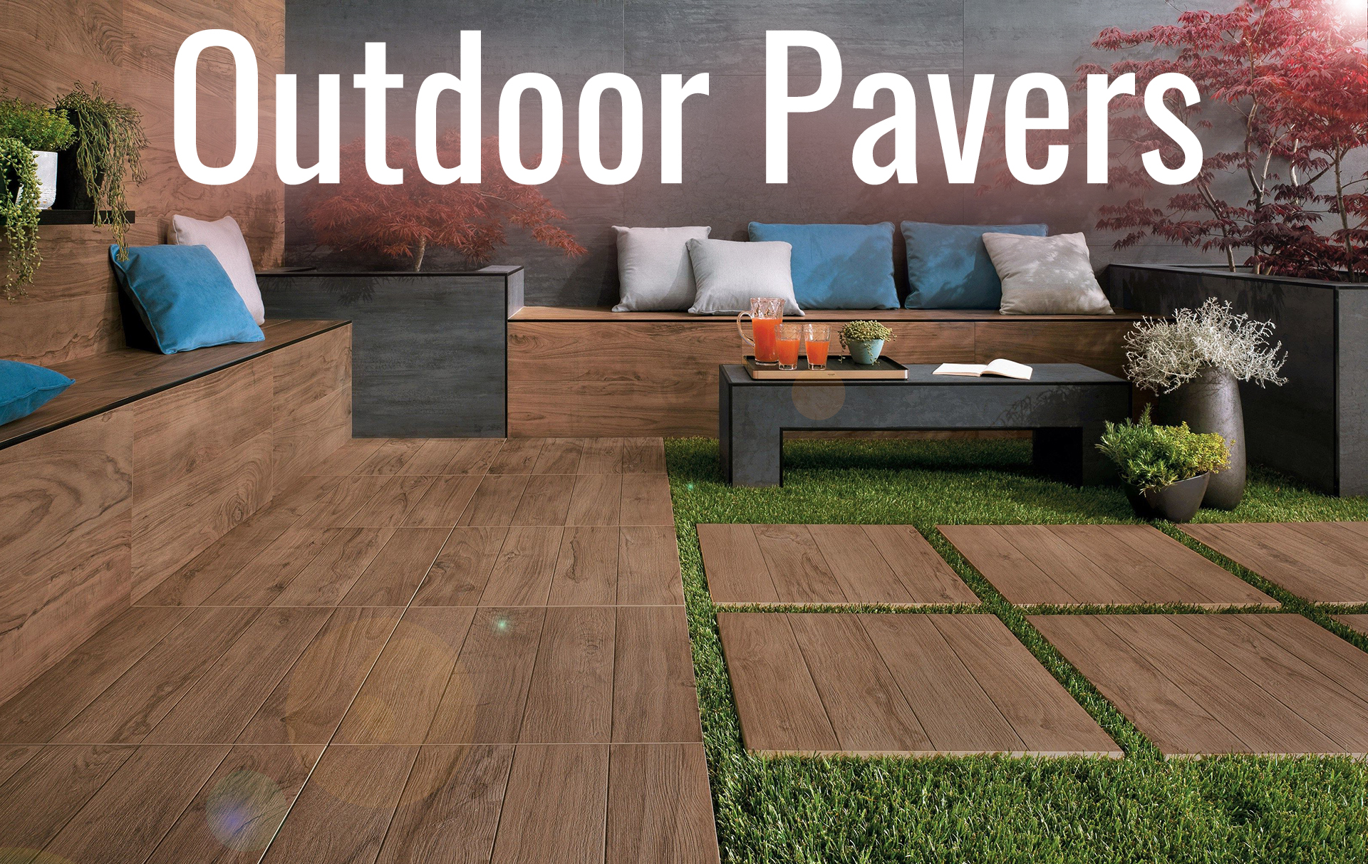 Shop By Type Outdoor Paver Tiles TilesDirect Store - Ceramic pavers outdoors