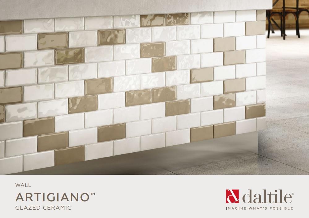 TilesDirect - Artigiano Ceramic Subway Wall Tiles By Daltile