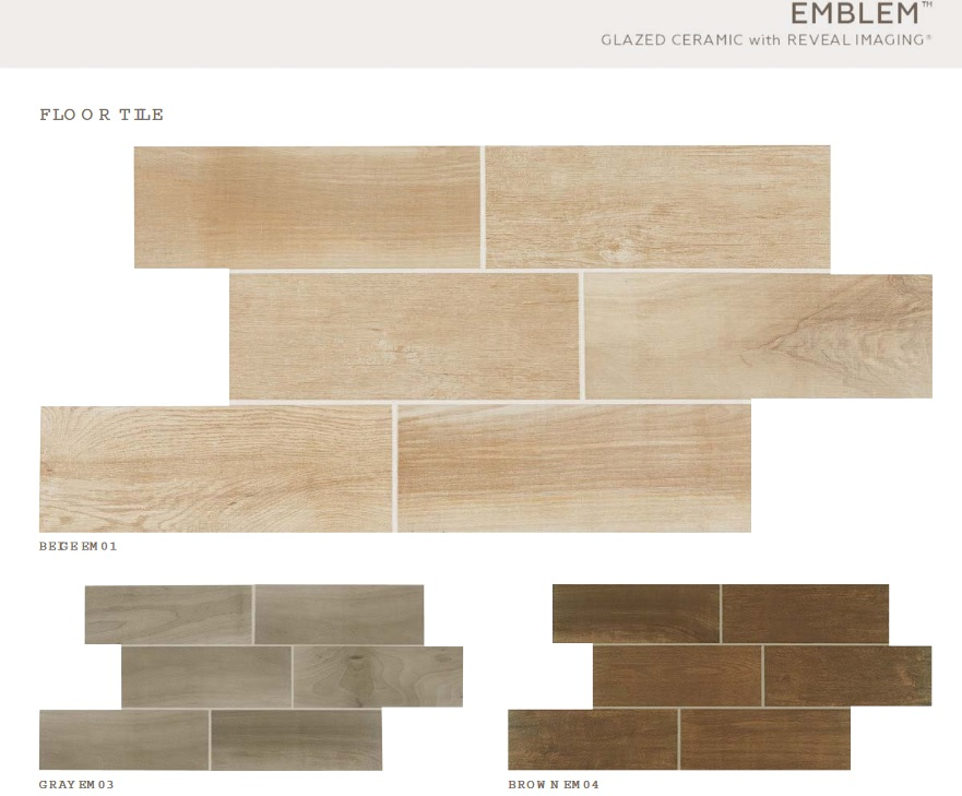 Emblem Collection Beige Ceramic 7x20 Tiles Direct Store