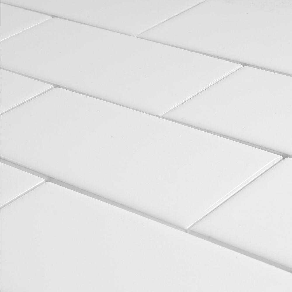 Largo Collection - Almond Subway Tile 6x6 - Tiles Direct Store
