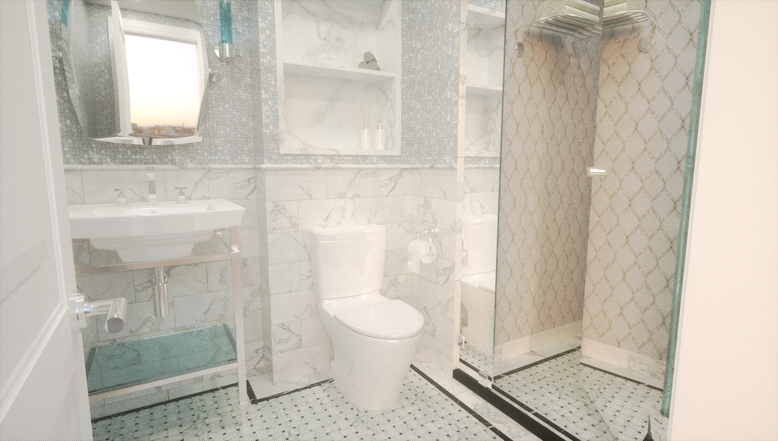 TilesDirect - The Mother of Pearl Collection Tiles