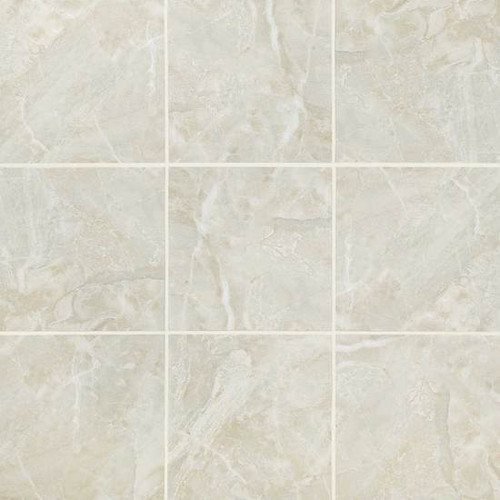 Mirasol Silver Marble Matte Floor Tile 24x24 - Tiles Direct Store