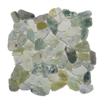 Sea Glass Wave 12X12