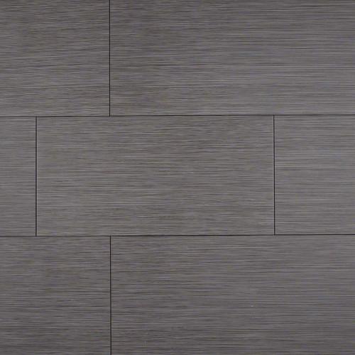 Focus Graphite Matte Porcelain 12x24 Tiles Direct Store