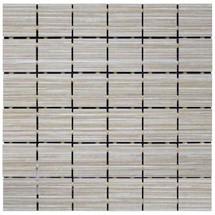Linen - Taupe Porcelain Mosaic 2x2
