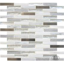 "Ocean Crest - Brick Mosaic 5/8"" x 3"""