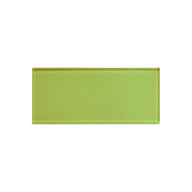 "Color Appeal Lime Green 3"" X 6"""