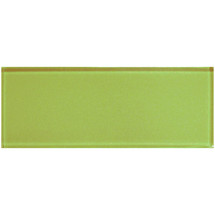 "Color Appeal Lime Green 4"" X 12"""