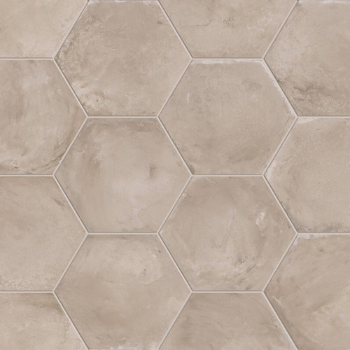 marca corona terra grigio 8 hex tiles direct store. Black Bedroom Furniture Sets. Home Design Ideas