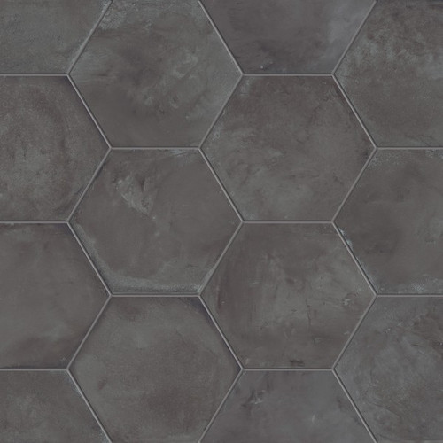 Marca Corona Terra Nero 8 Quot Hex Tiles Direct Store