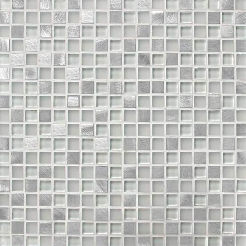 "Morello Quartz 5/8"" x 5/8"" Mosaic"