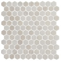 Onix Hexagon Pearl Glass Mosaic 13x13