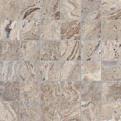 Antico Walnut HD Mosaics 2x2