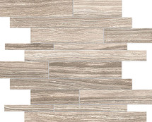 Eramosa Clay HD Porcelain Random Strip Mosaics