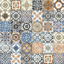 Marrakesh Color Mix HD Matte Porcelain 8x8