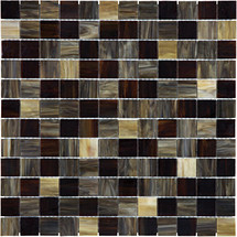 Baroque Paradiso Stained Glass Mosaics 1x1