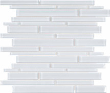 Element Ice Random Strip Glass Mosaics (35-057)
